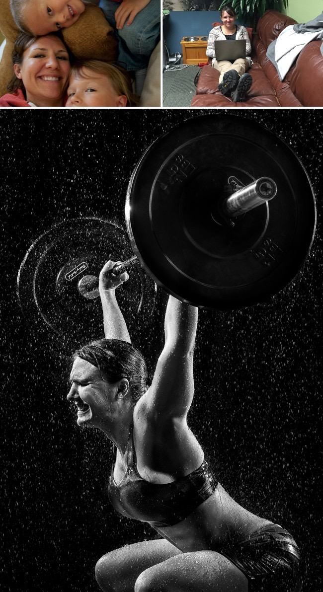 Photographer Transforms Ordinary People In Epic Athletes Using - Von wong gym shots