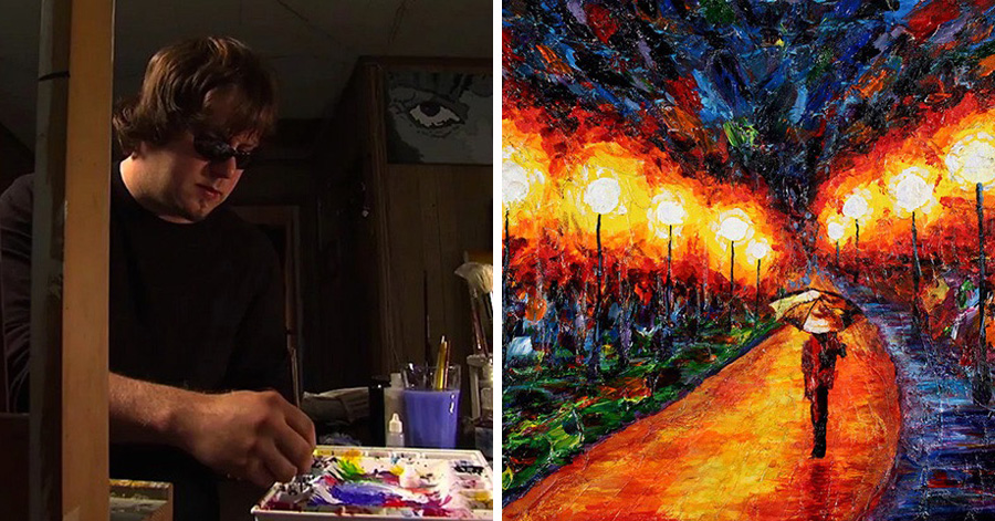 Painting Archives Just Something Creative - Artist suffering from depression illustrates his struggles with mysterious dark paintings