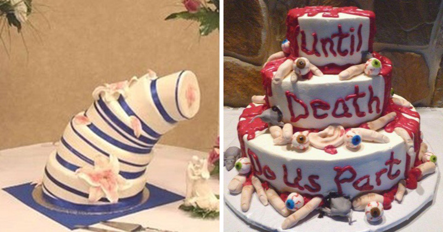 The 18 Worst Wedding Cake Fails Ever Made Are Straight Out From A Bride S Nightmare Especially 6