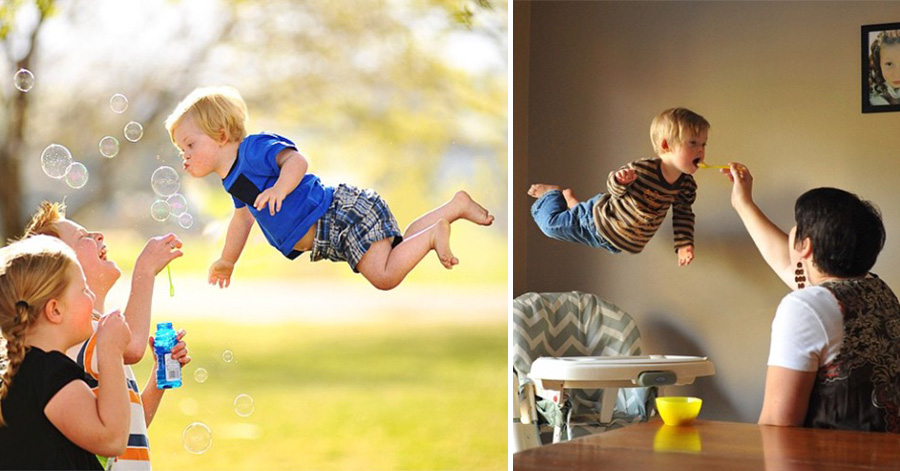 Creative Dad Takes The Most Adorable Photos Of His 4 Y O