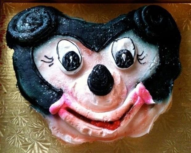 Cake Fails Disney