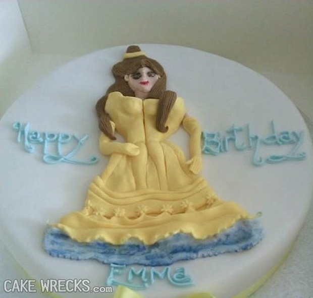 22 Worst Disney Cake Fails Ever. These People Totally Nailed It, LOL!