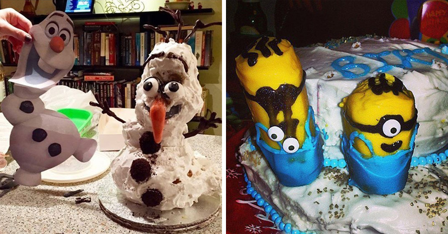 22 Worst Disney Cake Fails Ever These People Totally