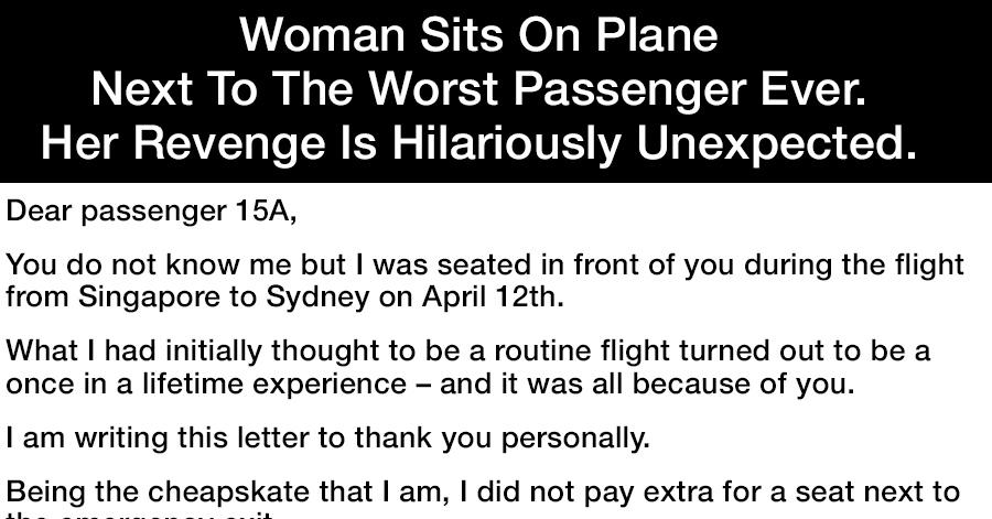 worst-passenger-ever
