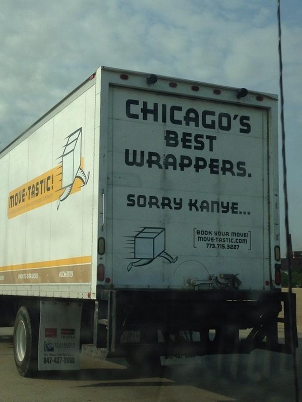 Hilarious Truck Signs Spotted On The Road - 24 funniest signs ever spotted around 6 just brilliant