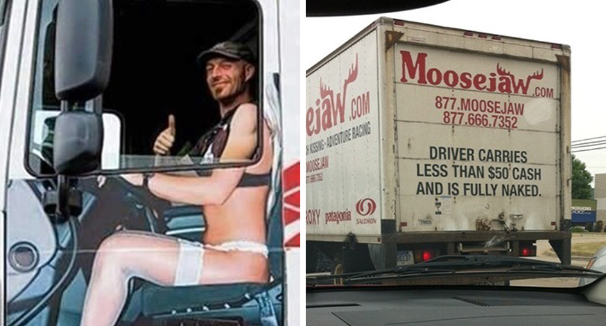 Hilarious Truck Signs Spotted On The Road - 22 hilarious truck signs spotted on the road