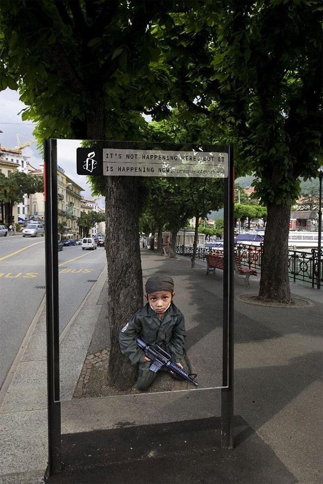 Pius Walker, Amnesty International, Switzerland