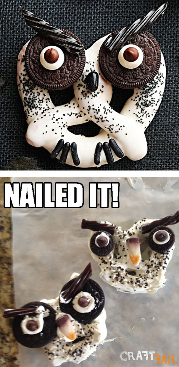 Hilarious Halloween Pinterest Fails Totally Nailed It - The 34 most hilarious pinterest fails ever
