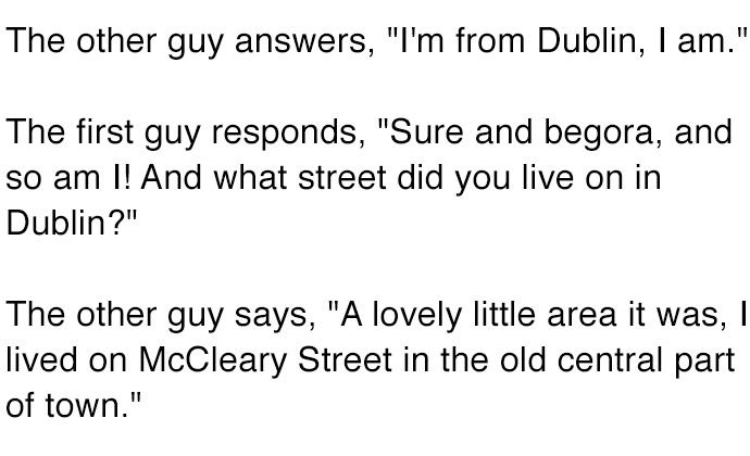 The Best Irish Joke Ever. This Is A Must Read.