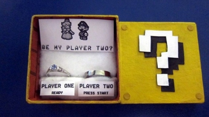 23 Of The Geekiest Engagement Rings