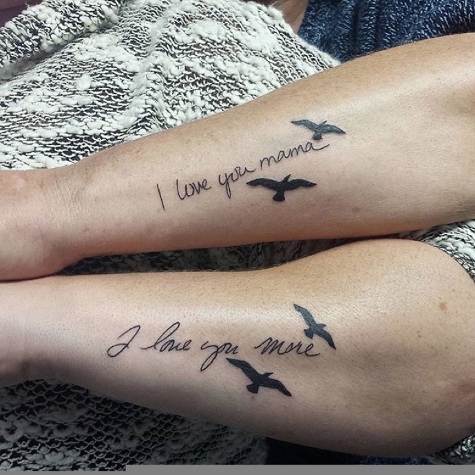 1076824c9ef95 20 Creative Mother-Daughter Tattoos Showing Their Love Is Forever ...