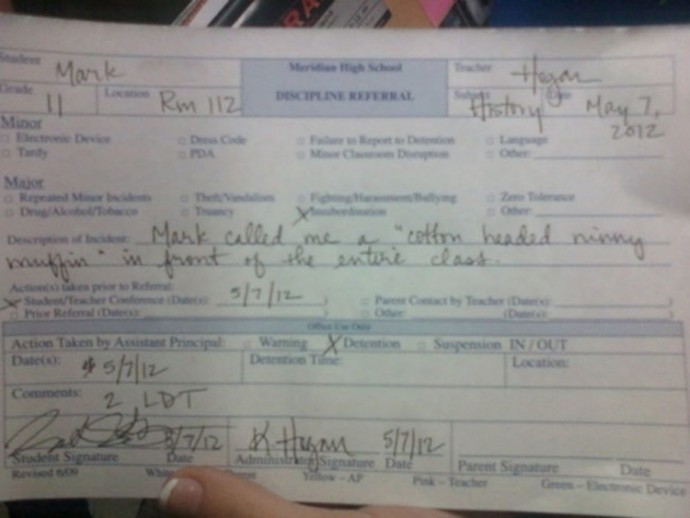 40 Hilarious Reasons Why Kids Got Detention
