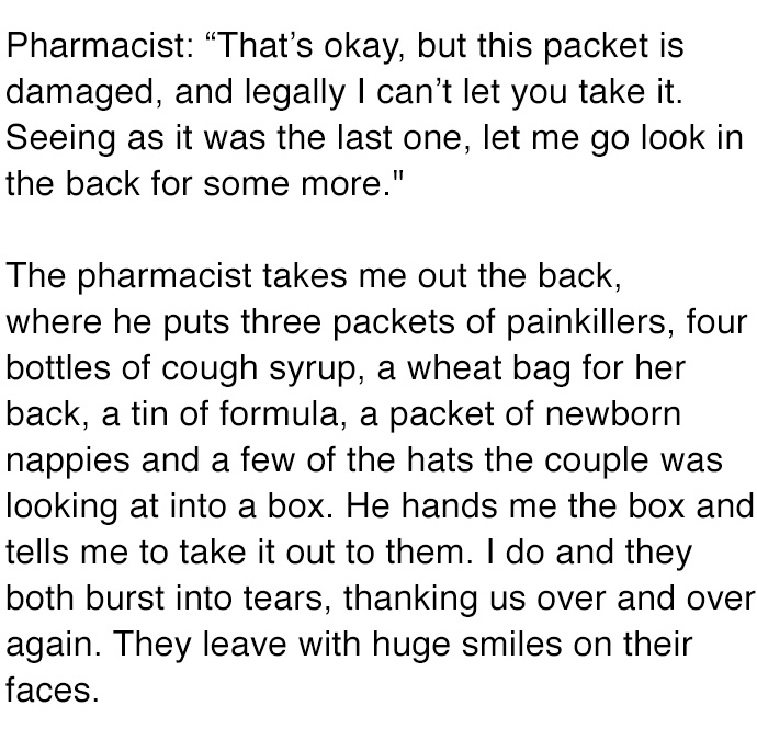 This Pregnant Woman Was In Dire Need Of Help, But She Never Expected The Pharmacist To Do THIS! Wow.