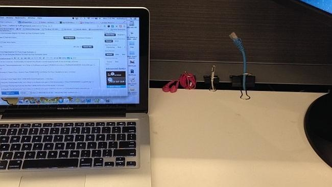 20 Creative Office Hacks That Will Make Your Life Easier. Thank Me later For #8.