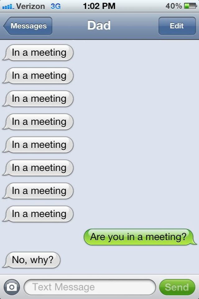 21 Of The Most Hilarious Texts Ever Sent From Dads. #5 Killed Me.