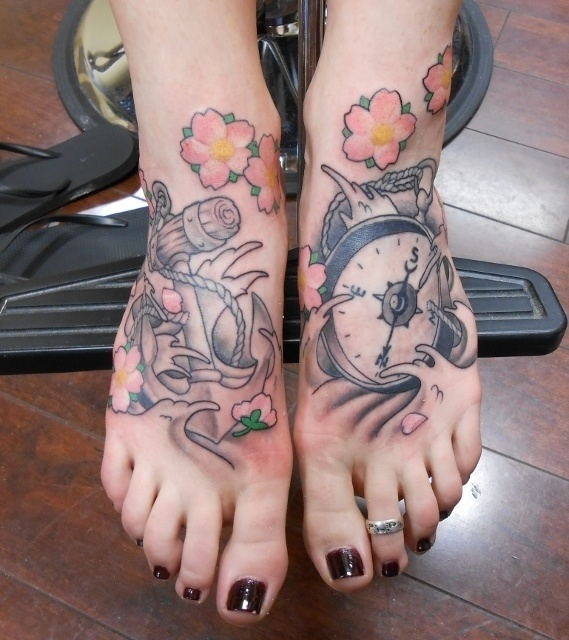 30 Creative Foot Tattoos You Will Hardly Regret In 30 Years. #9 Is Just Perfect.