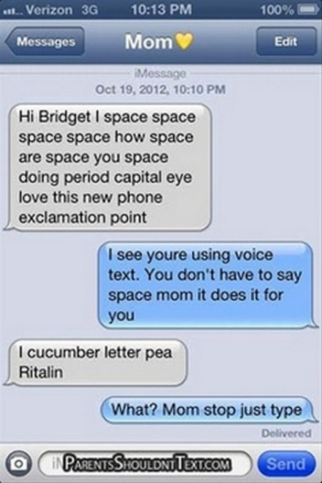30 Of The Funniest Texts Ever Sent From Moms. #6 Cracked Me Up.