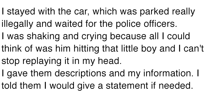 He Saw A Man Punching His Wife And Son In A Car. What He Did Next Is Something He Never Expected.