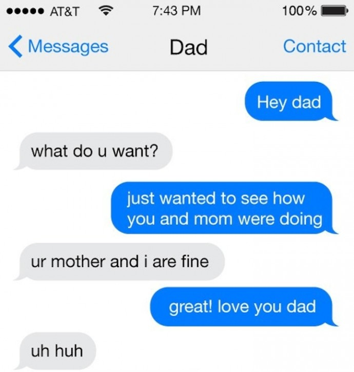 Kid Tried To Text-Prank His Dad But Got An Epic Taste Of His Own Medicine