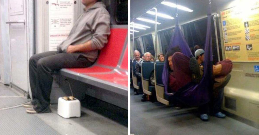 25 Of The Weirdest People You Can Find On The Subway. #16 ...