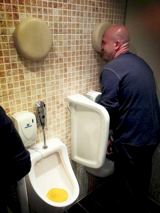 urinals In peeing