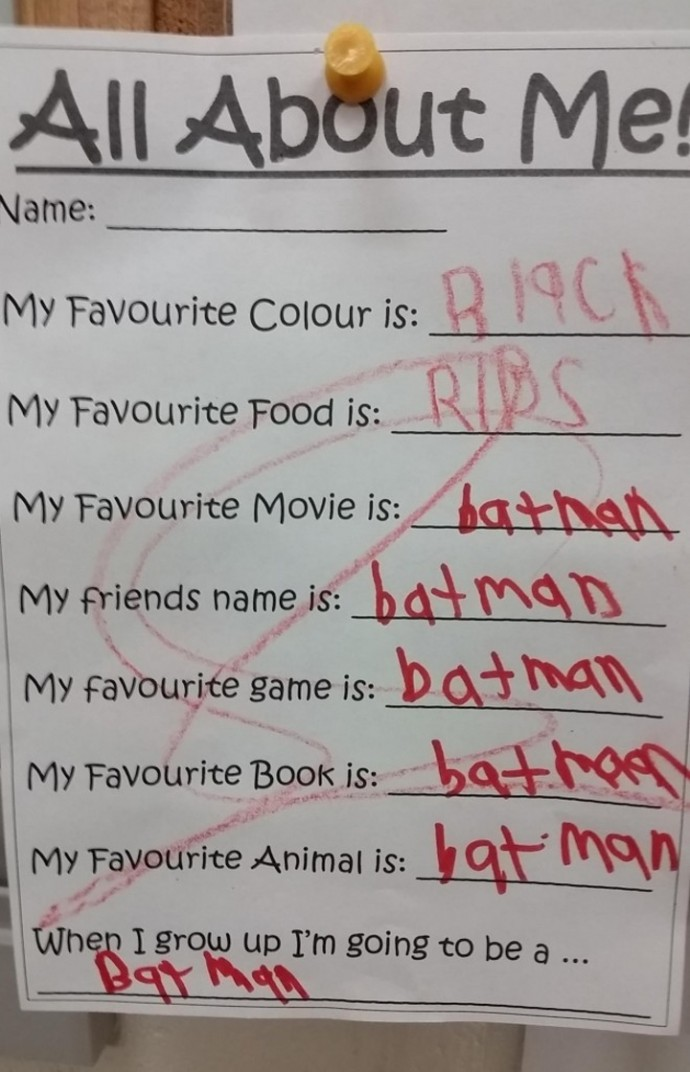 24 Hilarious Pictures Proving That Kids Think Different. #10 Is Just Brilliant!