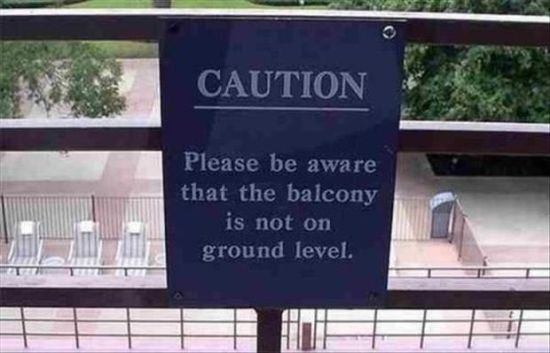 25 Signs That Only Exist Because The World Has Changed For The Worse. #8 Is The Best Ever!