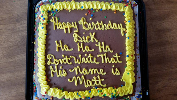 25 Times Cake Decorators Took The Instructions Way Too Literally. #7 Is Just Hilarious!