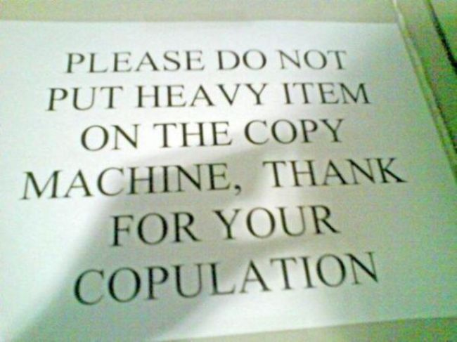 29 Times Grammar Fails Made Things Totally Different. #6 Is Just Hilarious!