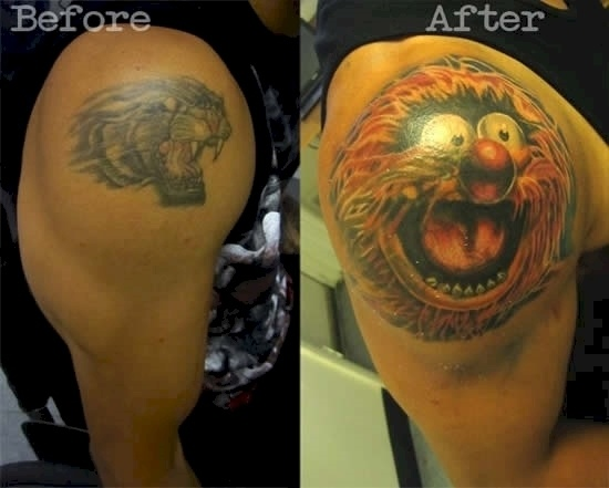20 Of The Most Creative Tattoo Cover Ups Ever. #10 Is Just Brilliant.