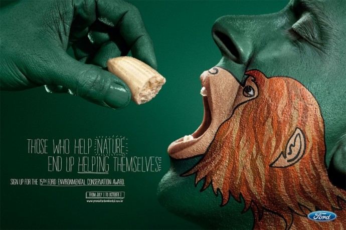 32 Ads So Clever You'll Have To Look Twice. #10 Is Just Brilliant.