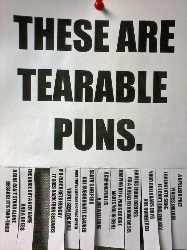 32 Puns That Will Make You Laugh Way More Than You Should (NEW)(1st)