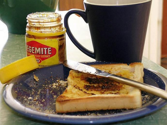 Australia: Bread, Vegemite