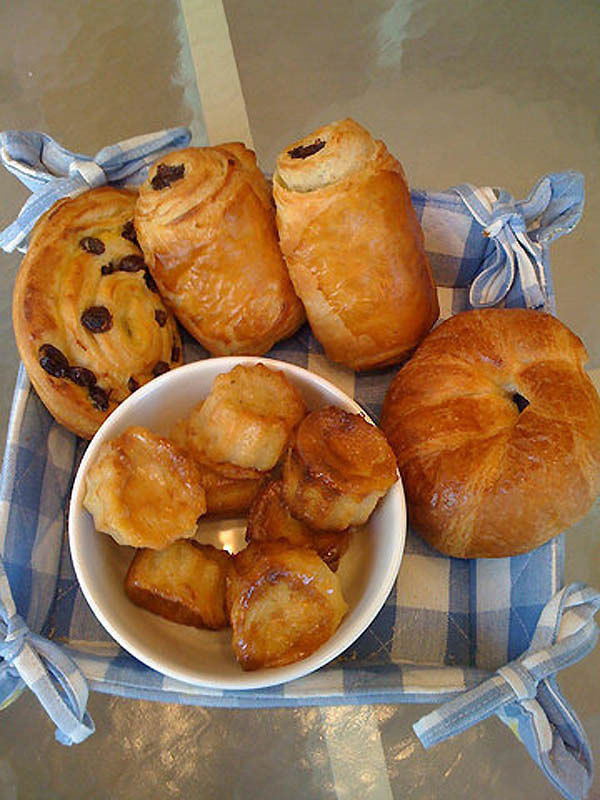 France: Croissant, Butter, Chocolate