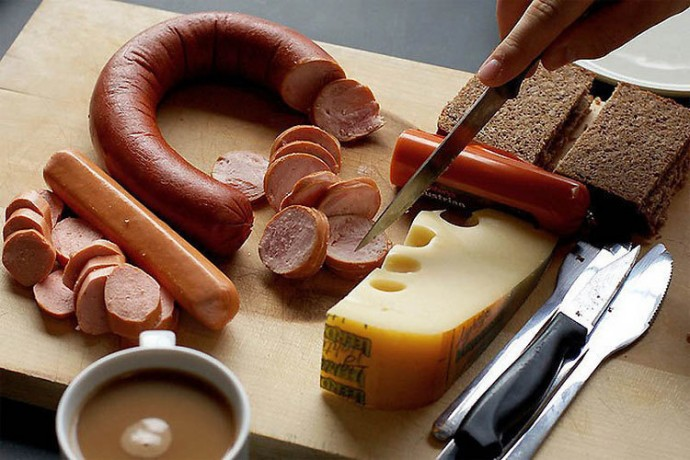 Germany: Wursts, Cheese, Bread