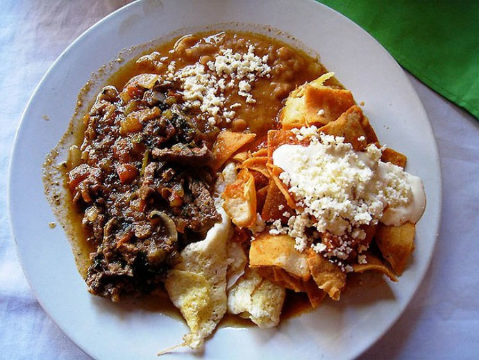 Mexico: Beef Tips, Chilequiles, Manzanillo