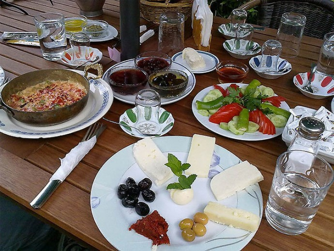 Turkey: Spicy Meat, Cheese, Butter