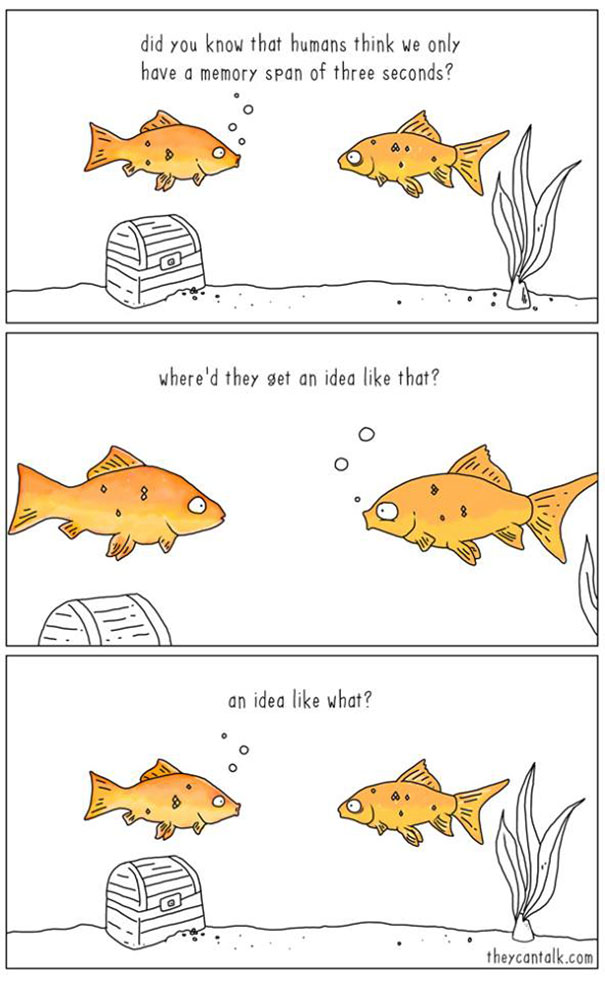10 Funny Illustrations Show What Animals Would Say If They Could Talk