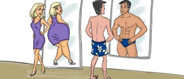 14-hilarious-illustrations-depict-differences-men-women