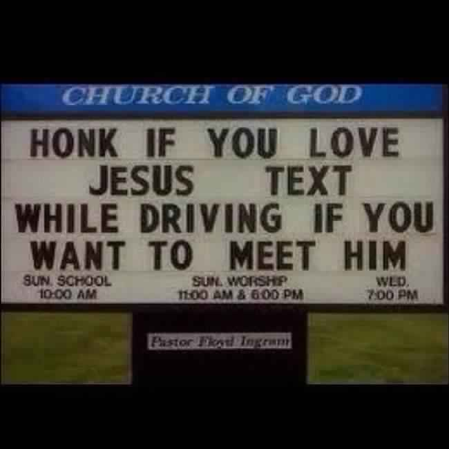 32 Hilarious Church Signs That Will Make You Laugh Way More Than You Should (NEW) (3rd)