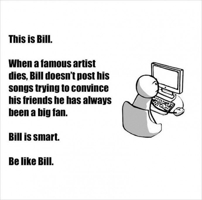 Be like Bill (NEW) (11th)