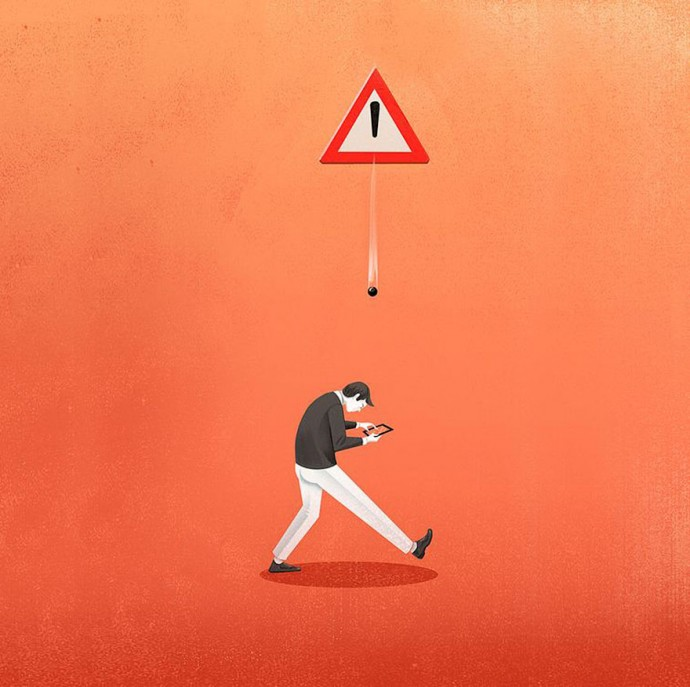 12 Creative Illustrations That Perfectly Depict The Struggles Of Modern Life.