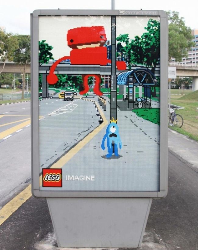 Street Ads That Think Totally Outside The Box Page Of - 16 imaginative lego ads that celebrate the power of fantasy 2