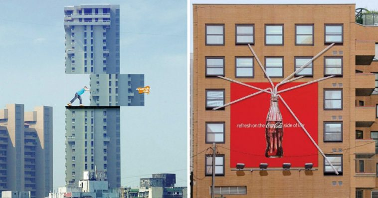 Street Ads That Think Totally Outside The Box - 21 street ads that think totally outside the box