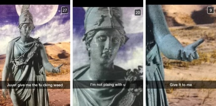 21 Hilarious Snapchats That Made Our Day Instantly Better. #6 Cracked Me Up!