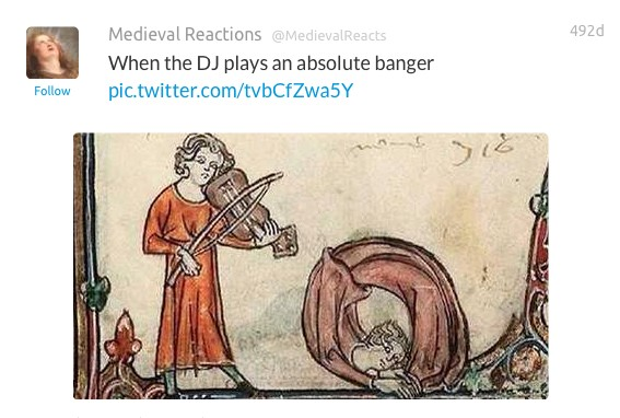 22 Hilarious Art History Tweets Proving That 2016 And 1400 Are Basically The Same. #5 Killed Me!