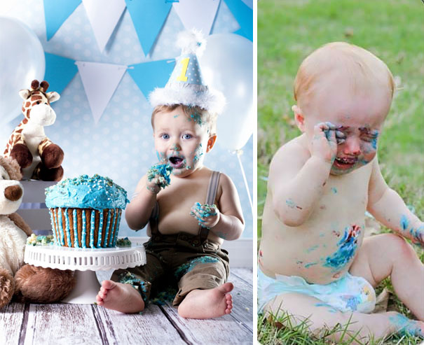 24 Hilarious Baby Photoshoot Pinterest Fails. #9 Totally Nailed It, LOL!