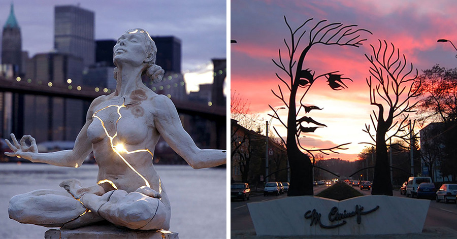24 Of The Most Creative Sculptures You Can Find Around The ...