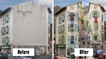 artist-transforms-empty-city-walls-lively-scenes