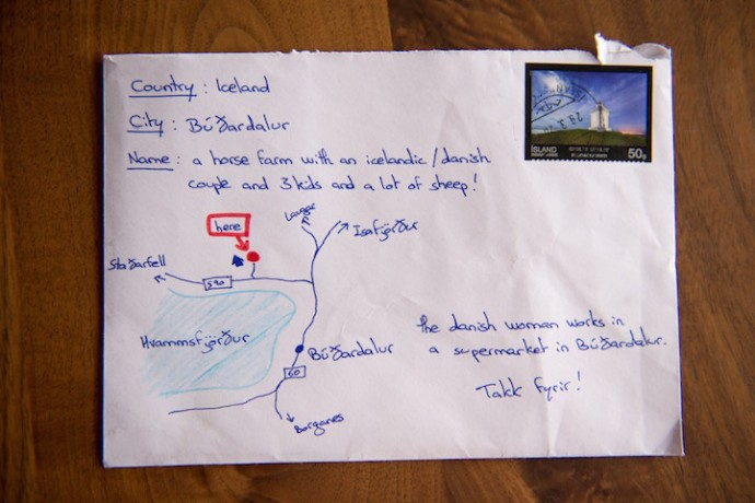 Desperate Icelandic Woman Draws Map Instead Of Address, And Letter Actually Arrived At Destination